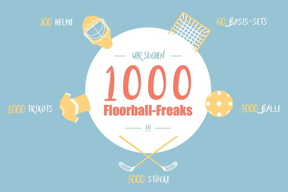 1000 Floorball-Freaks